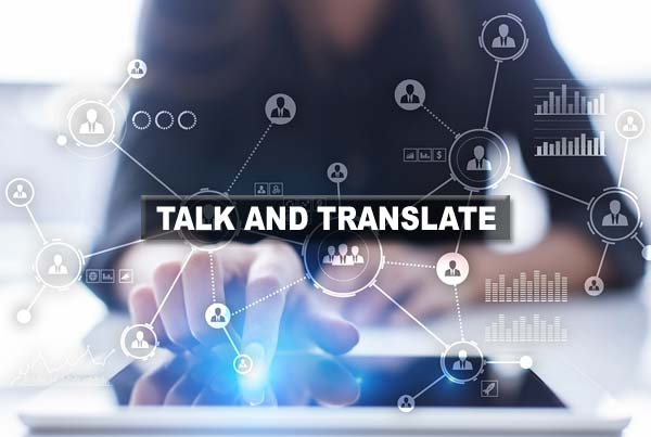 Talk And Translate