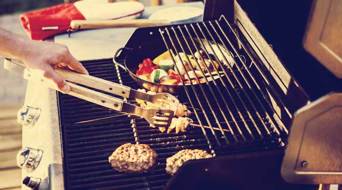 Use A Gas Grill