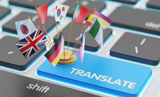 Working of Google translate by speech for any language