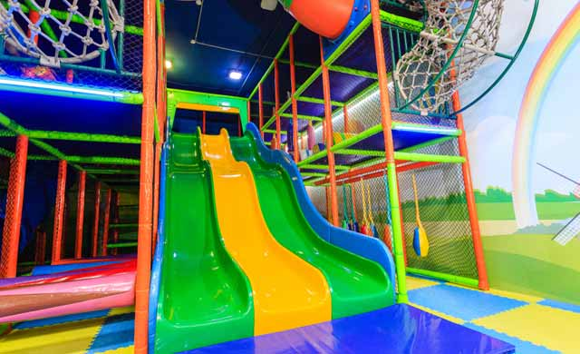 build an indoor playground