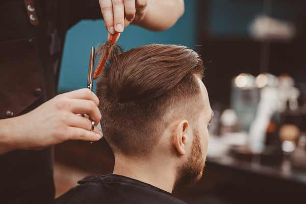 how to mens haircut