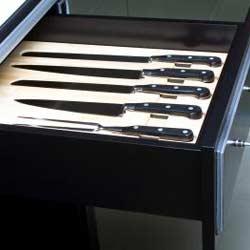 In-Drawer Knife Holder
