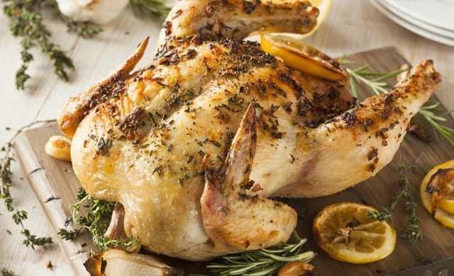 Learn to Prepare Garlic Roast Chicken