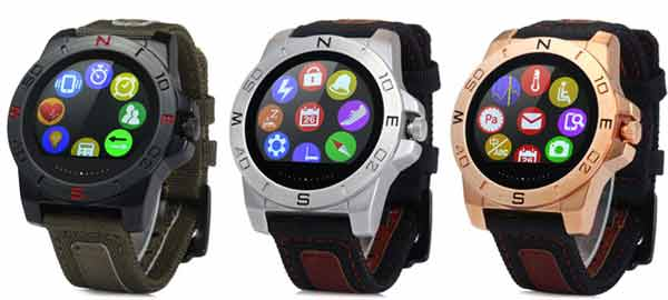 Some of the features of a smart watch are given below
