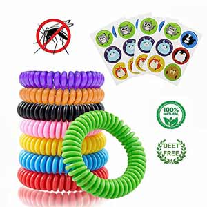 Mosquito repellent bracelets repel mosquitoes