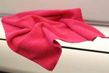 What are the uses of microfiber towels