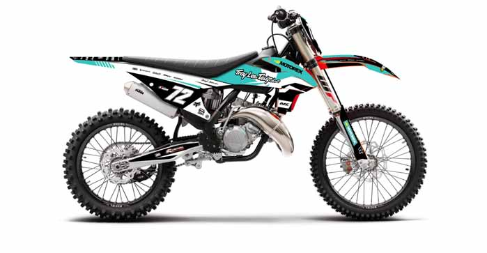 How to Put A Graphics Kit On A Dirt Bike