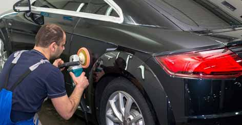 Protect Further Paint Scratches On Car