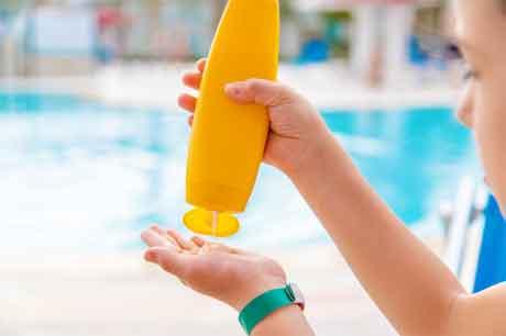 Children's Sun Protection Factor (SPF) Cream