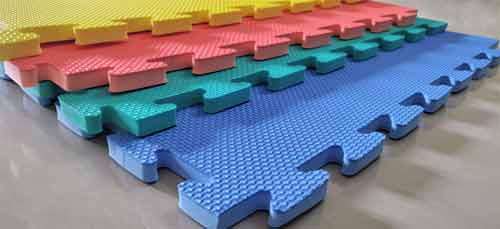 How is Puzzle Mats Made