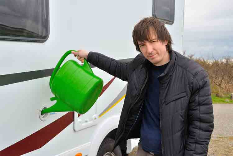 How to Clean Your RV Water Tank